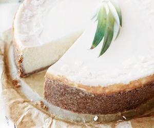 food, cheesecake, and cake image