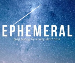 words, ephemeral, and time image