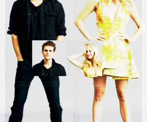 tvd, paulwesley, and candiceaccola image