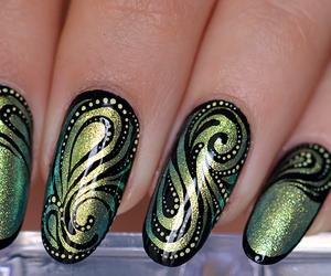 fashion, nail art, and nail polish image