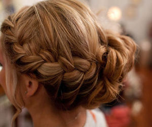 barbie, pretty, and prom hair image
