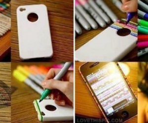 iphone, diy, and case image
