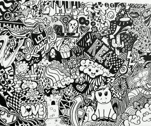 black and white, picture, and sei la gostei image