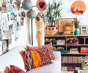home, boho, and house image