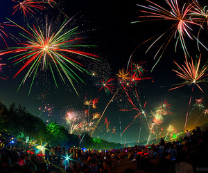 fireworks, photography, and night image