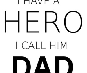 dad, daddy, and hero image
