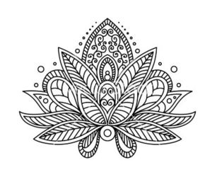 flower, art, and mandala image