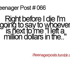 funny, teenager post, and die image