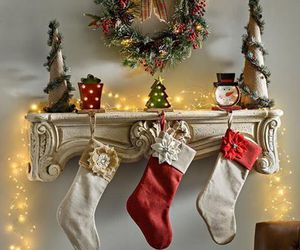 christmas, christmas lights, and decor image