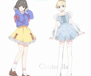 anime, cinderella, and Otaku image
