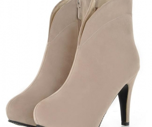 ankle boots, knee high boots, and women shoes image