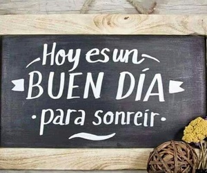 smile, frases, and hoy image