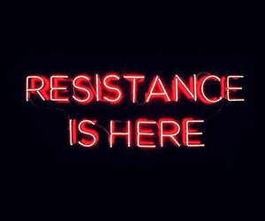 red, light, and resistance image