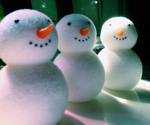 christmas, olaf, and snowman image