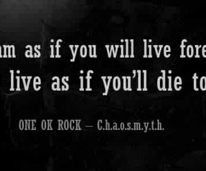 quote and one ok rock image