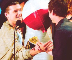 josh hutcherson and logan lerman image