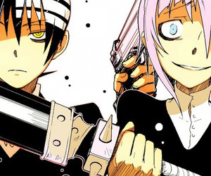 soul eater, death the kid, and crona image