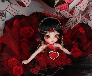 ball jointed doll, doll, and luts image