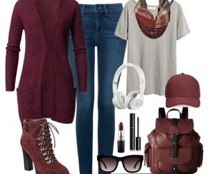 moda, outfits, and vino image