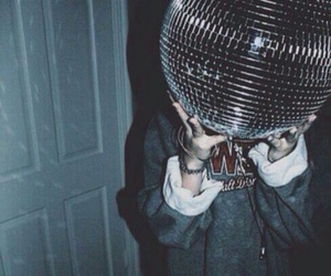 grunge, party, and disco image