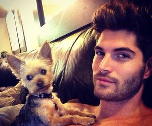 nick bateman, dog, and boy image