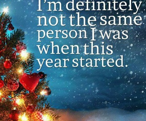 christmas, quote, and year image