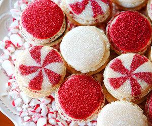 christmas, red, and food image