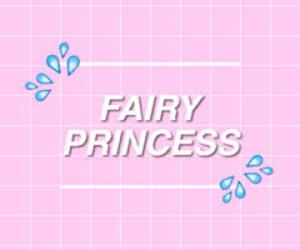 pink, princess, and fairy image
