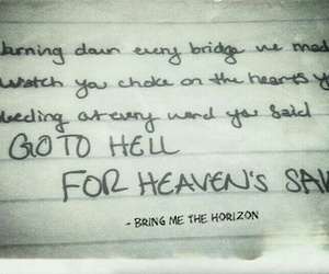 bands, bmth, and heaven image