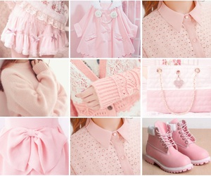heart, pink clothes, and cute image