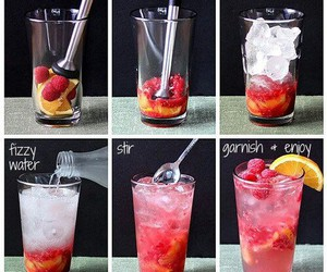 drink, fruit, and diy image