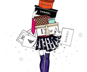 chanel, dior, and fashion image