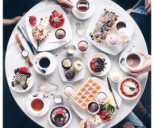 food, sweet, and coffee image