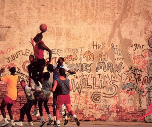 Basketball, basket, and sport image