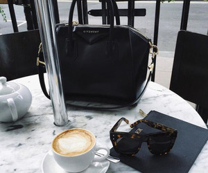 coffee, fashion, and Givenchy image