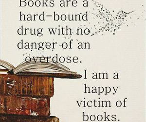 book, drugs, and quote image