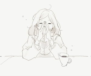 aesthetic, tea, and pixiv image