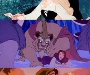disney, funny, and woods image