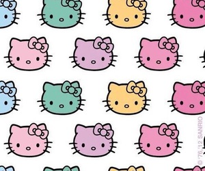 background, wallpaper, and hello kitty image