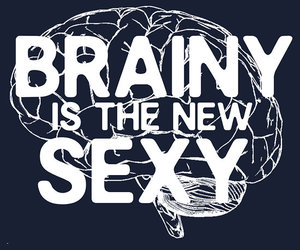sexy, quote, and brainy image