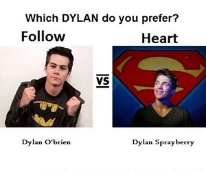 dylan, dylan o'brien, and teenwolf image
