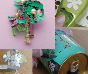 diy tutorial, recycled jewelry, and recycled jewelry ideas image