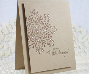 christmas, envelope, and etsy image
