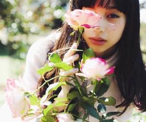 flower, girl, and 中条あやみ image