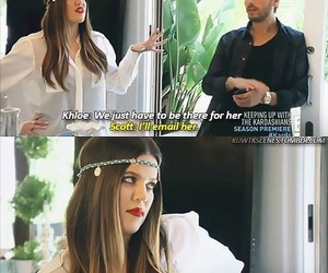funny, haha, and keeping up with the kardashians image