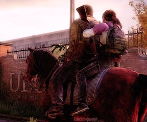 the last of us, ellie, and tlou image