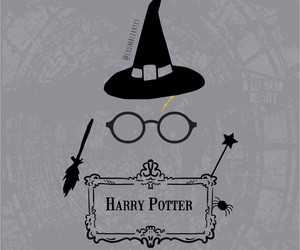background, books, and harry potter image