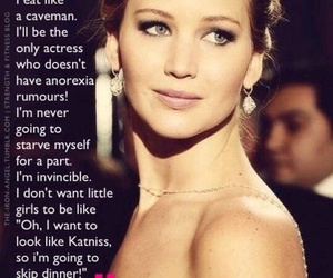 Jennifer Lawrence, quote, and actress image