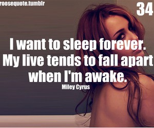 miley cyrus, quote, and miley cyrus quote image