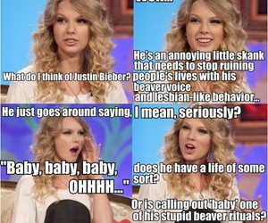 beaver, not funny, and Taylor Swift image
